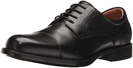 Florsheim mens Medfield Cap Toe Oxford Dress Shoe, Black, 11.5 US