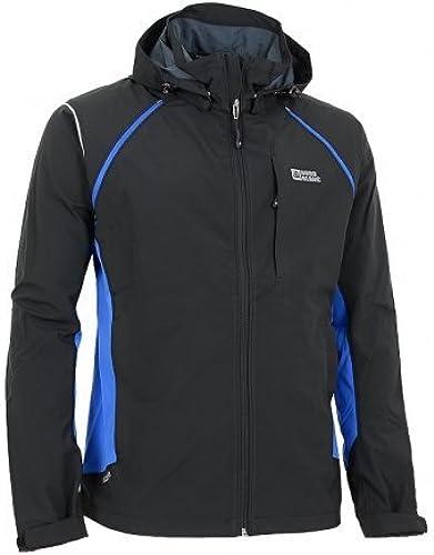 Nord Blanc Effective bleu Veste Softshell pour Homme Noir Bleu