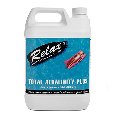 Cascade Pools Relax or Acti 5 kg Alkalität Plus – Schwimmbad/Spa Chemie