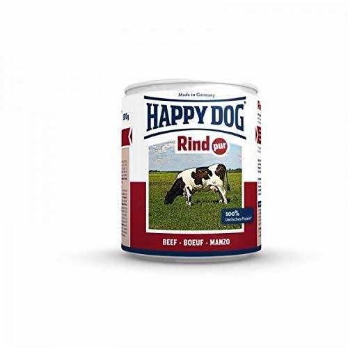 Happy Dog hondenvoer rund puur 200 g blik aanvullende voeding