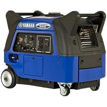 Yamaha EF3000iS, 2800 running Watts/3000 Starting Watts, Gas Powered Portable Inverter