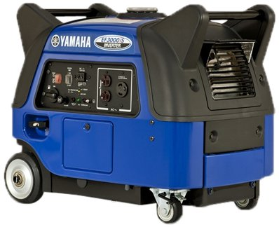 Yamaha EF3000iS, 2800 running Watts/3000 Starting Watts, Gas Powered Portable Inverter
