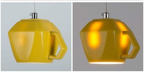 BOSSLV Lampe Suspendue en Céramique, Lampe Suspendue Créative E27 Hotel Bar Cafe Hallway Cuisine Salon Salle à Manger-vert-B 14X10Cm