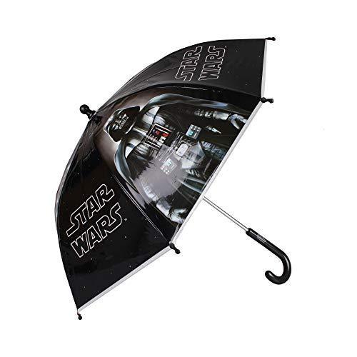 Star Wars Winter 2019 Paraguas clásico 55 Centimeters Negro (Black)