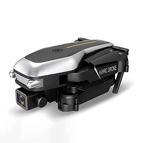 HJRBM Drone, Dotato di videocamera ad Alta Definizione per Adulti 720P/1080P, azionamento a Quattro Assi con sensore di gravità, Mantenimento dell'altezza, modalità Senza Testa