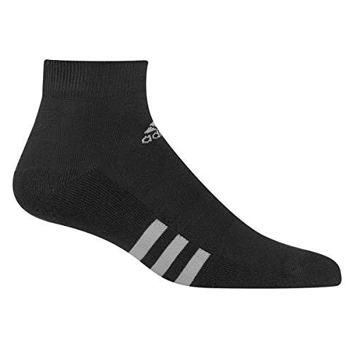 adidas Golf Mens 6-Pack Golf Ankle Socks - Black - UK 6.5-10