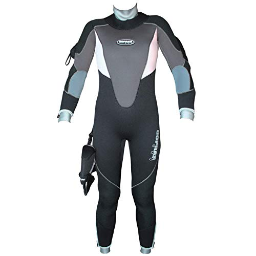Sopras Sub 7MM SEMI-Dry ICELADY Womans Wetsuit...