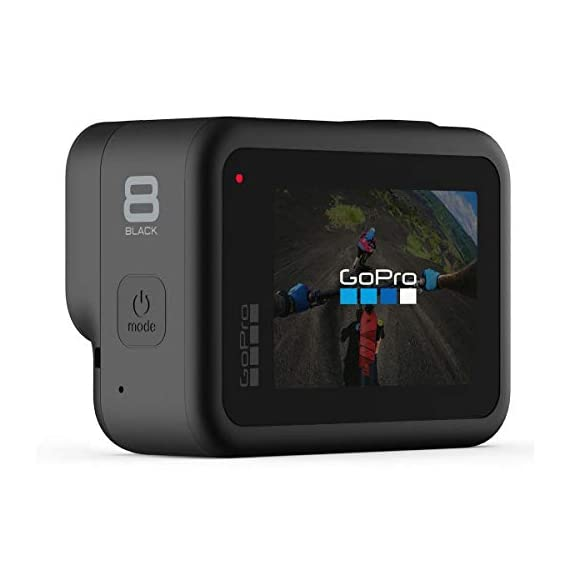 Gopro hero8 black action camera w/gopro dual lithium-ion battery charger with 1 x battery and 32gb memory card 2 this k&m bundle includes all standard gopro accessories + limited 1-year warranty (through manufacturer) gopro hero 8 box includes: gopro hero8 black, rechargeable battery, curved adhesive mount, mounting buckle, thumbscrew, usb-c cable, limited 1-year warranty gopro hero 8 features: hypersmooth 2. 0 video stabilization, timewarp 2. 0 stabilized time-lapse video, live streaming in 1080p, raw in all photo modes, night lapse video