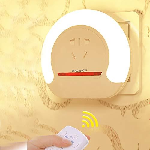TXTC nachtlampje, voor kinderen, nachtlampje, stopcontact, dimbaar, voor slaapkamer, badkamer, keuken