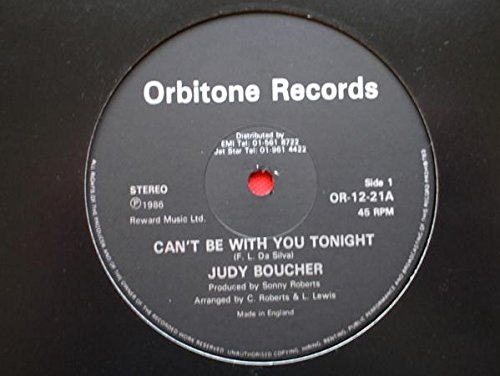 Boucher, Judy Can\'t Be With You Tonight 12
