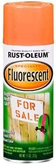 Rust-Oleum 1954830 1954-830 Spray Paint, 11-Ounce, Fluorescent Orange