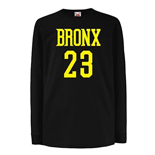 lepni.me Camiseta para Niño/Niña Bronx 23 Freestyle, Nueva York, Ropa Deportiva de Moda