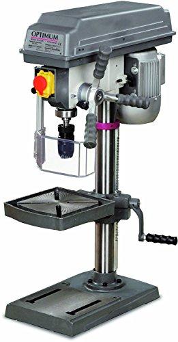 OPTIMUM B 17 PRO SET - Tisch- und Säulenbohrmaschine inkl. Schraubstock BMS 85