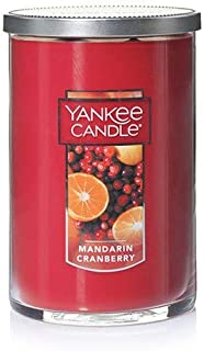 Mandarin Cranberry Large Tumbler Candle,Fresh Scent