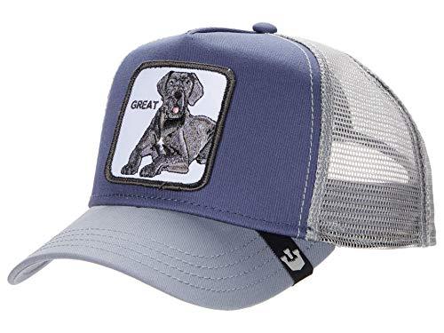 Goorin Bros Trucker Cap Big D/Hund Grey - One-Size