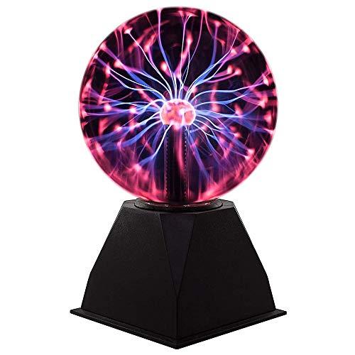 SVHK Ion-Kugel-Kugel-Plasma-Kugel-Kugel-Bereich elektrostatische Licht Magie-Kristalllampe Elektrostatische Ion magische Kristallkugel Tischglobus Laptop-Dekor
