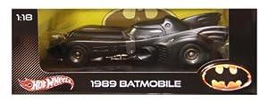Batman Batmobile 1989 Heritage Series 1:18 Die-Cast Model X5533 Hotwheels