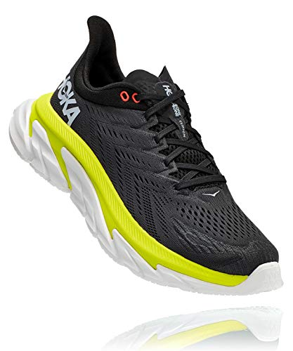 Hoka One One M Clifton Edge (Anthracite/Evening Primrose, Fraction_42_and_2_Thirds)