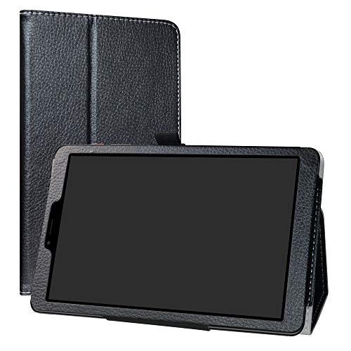 Labanema CHUWI Hi9 Pro Tablet PC 4G LTE Funda, Slim Fit Carcasa de Cuero Sintético con Función de Soporte Folio Case Cover para CHUWI Hi9 Pro 4G LTE 8,4 Pulgadas Tablet - Negro