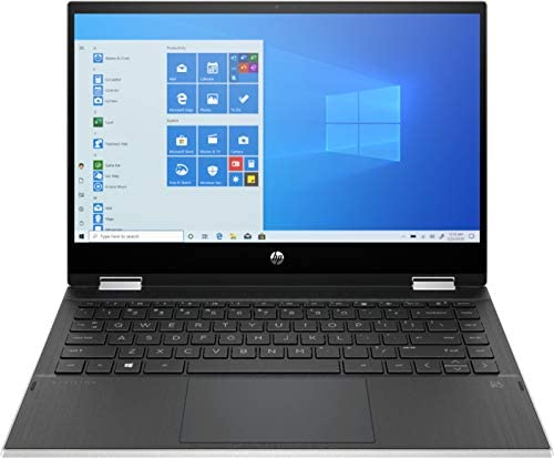 HP Pavilion x360 2 in 1 14 HD Touch Screen Laptop Intel Core i3 1005G1 HDMI USB C Wi Fi Webcam product image