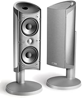 Polk Audio RM6901 Satellite Speaker with Stand (Single, Titanium)