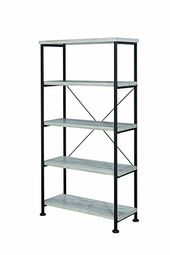 Coaster Home Furnishings CO-801546 Bookcase, Grey Driftwood