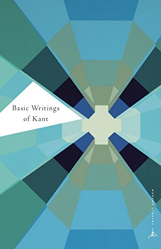 Basic Writings of Kant (Modern Library Classics)