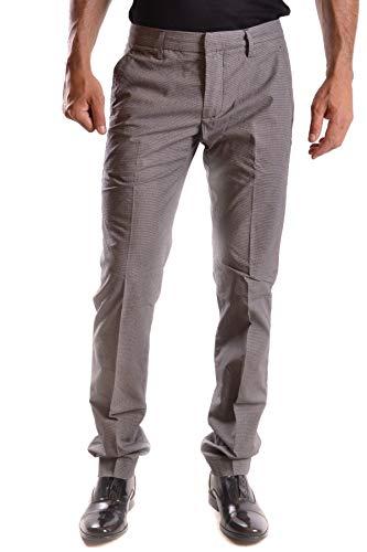DONDUP Pantaloni Uomo Mcbi26068 Cotone Grigio