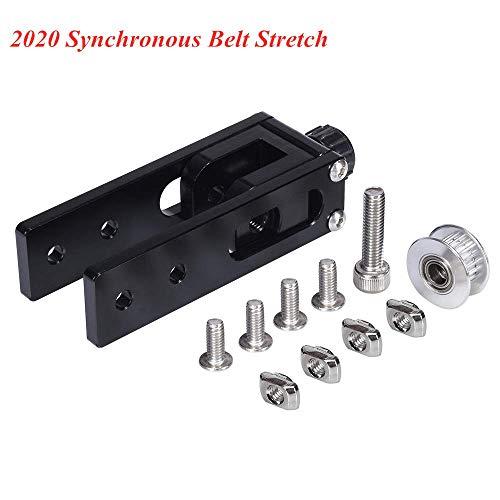 BZ 3D 2020 Profilo in alluminio Asse X Slot a cinghia sincrona Allungamento tenditore Tenditore Parti della stampante 3D per CR-10 CR10S Tronxy X3 (asse X 2020)