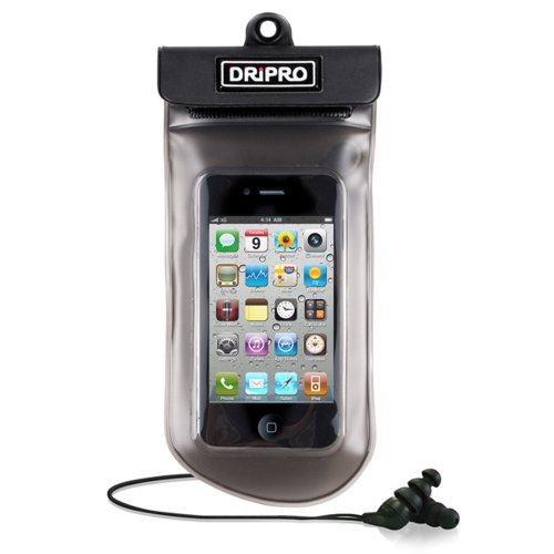Infosec D01 - Bolsa y auriculares sumergibles para iPhone 3 y 4/iPod Touch/Galaxy S/BlackBerry