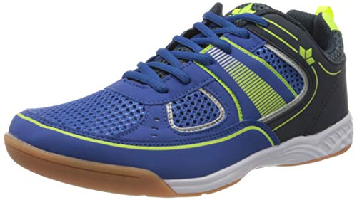Lico Recent Indoor Herren Multisport Indoor Schuhe, Blau/ Marine/ Lemon, 39 EU