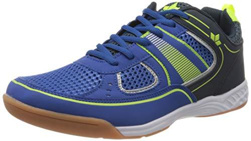 Lico Recent Indoor Multisport Indoor Schuhe Herren, Blau/ Marine/ Lemon, 42 EU