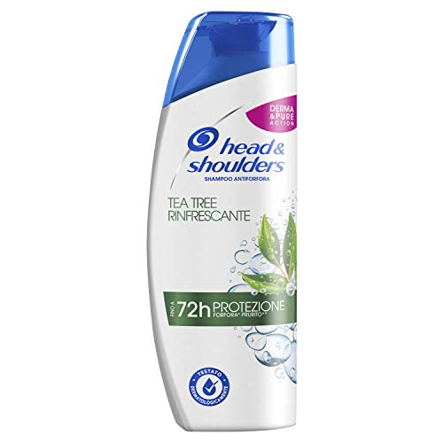 Head & Shoulders Tea Tree Rinfrescante Antiforfora...