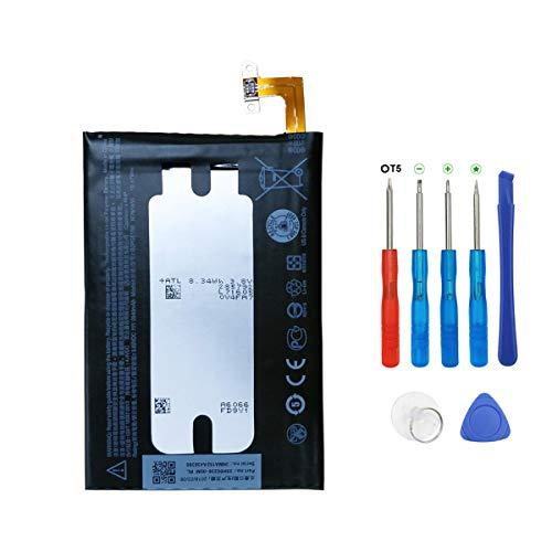 Swark BOPGE100 Batería compatible con HTC One Hima One M9/One M9 Plus One Me con herramientas