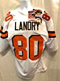 Jarvis Landry Cleveland Browns Signed Autograph White Custom Jersey JSA Witnessed Certified
