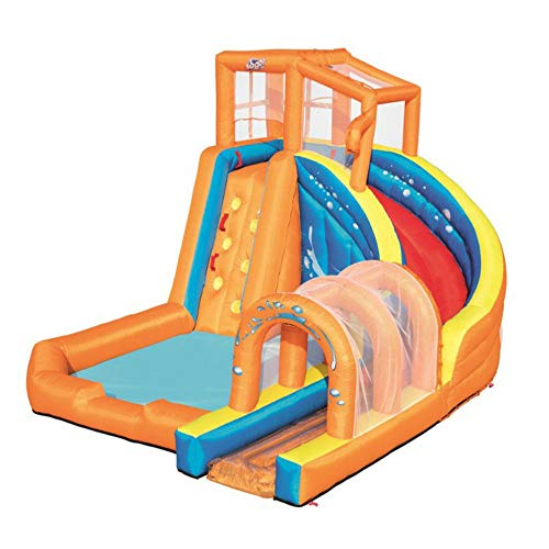 LDIUY Inflatable Pool Water Slide Toys for Kids