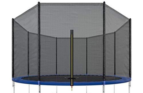 VIKING SPORTS Red de seguridad para cama elástica, 366 cm de diámetro, 8 barras