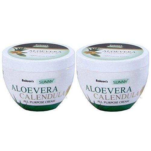 Sunny ALOEVERA Calendula Cream - Pack of 2