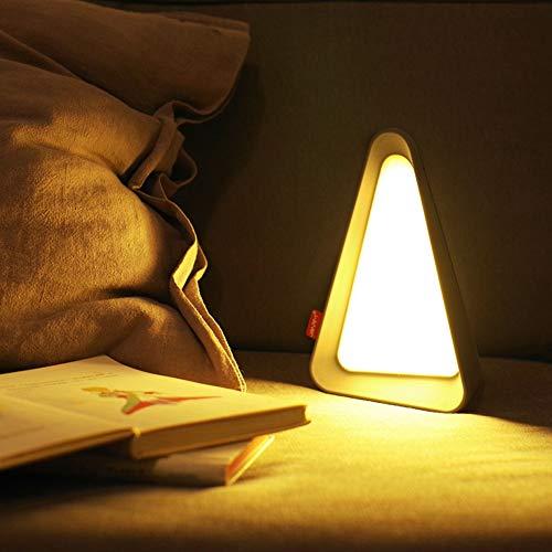 Gravity-Sensing-Nachtlicht, Schlafzimmer Wiederaufladbare Nachttischlampe, Flip-Energiespar-Schlaf-Schreibtischlampe |ABS Und PC |für Schreibtisch Platzierung Geeignet, Lesen AAA+