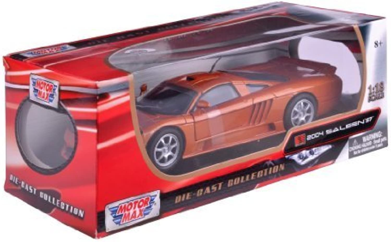 Richmond Toys 1 18 2004 Saleen S7 Die-Cast Collectors Model Car (Beryllium) by Richmond Toys