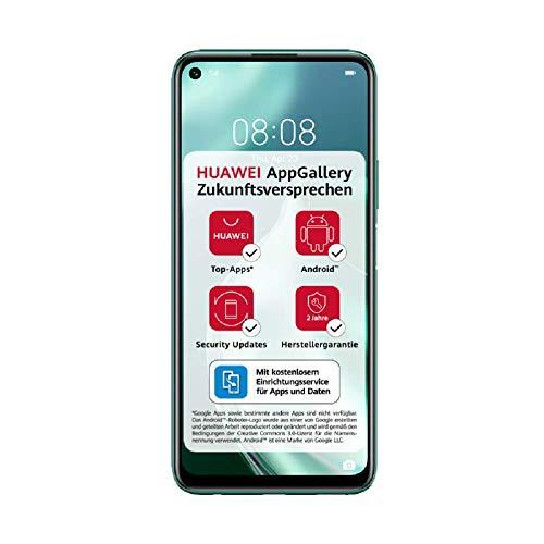 HUAWEI P40 lite 5G Dual-SIM Smartphone BUNDLE (16,51cm(6,5 Zoll), 128 GB ROM, 6 GB RAM, Android 10.0 AOSP ohne Google Play Store, EMUI 10.1.1) Crush Green [Exklusiv +5 EUR Amazon Gutschein]