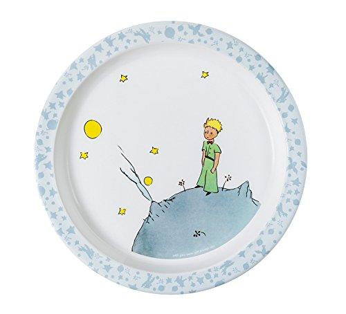 Der Kleine Prinz PP905H Baby Essteller, Diameter 21 cm, blau