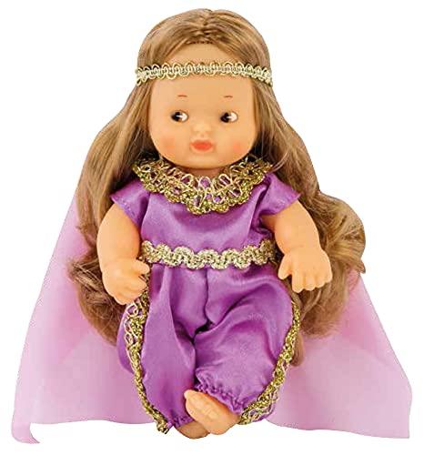 Los Barriguitas - Barriguitas del mundo Jordana, muñeco bebé barriguitas de Jordania, colección del mundo con ropa para muñecas, juguete para niños y niñas a partir de 3 años, FAMOSA (700016916)