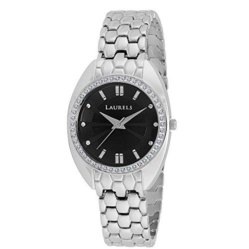 Laurels Omega Analog Black Dial Women's Watch - Lo-OGA-0207