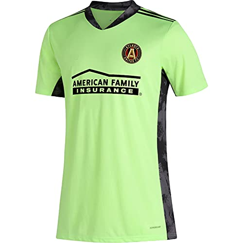 TEZAI Portero Personalizado Equipo de fútbol Atlanta Logo Manga Corta Jersey Hombres Adultos para Hombres Camisetas, Camisetas M