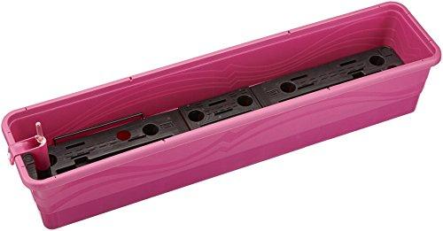 Plastkon même Jardinière d'irrigation Smart Système Gardénia 100 cm Fuchsia/Rouge
