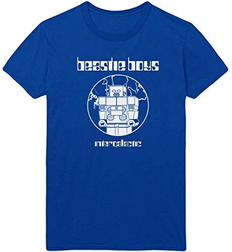 Beastie Boys 'Intergalactic' (Blue) T-Shirt (Large)