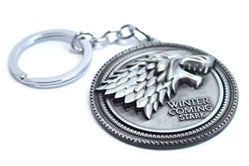 Se acerca el invierno - Juego de Tronos - Stark de Llavero - Jon Snow diente de lobo
