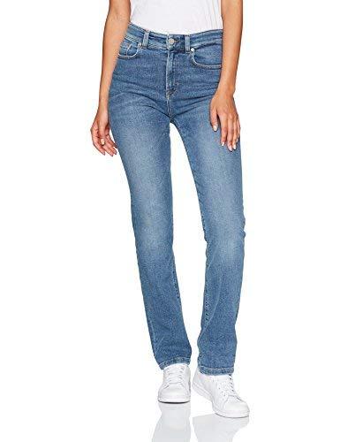 Filippa K Stella Jeans Straight, Blu (Soft Blue), W29/L32 (Taglia Produttore: Large) Donna