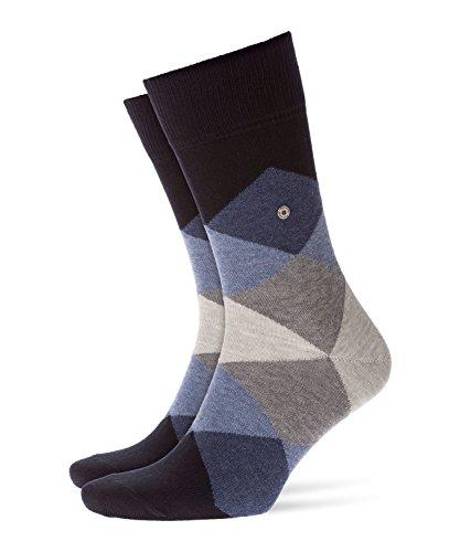 BURLINGTON Herren Socken Clyde - Baumwollmischung, 1 Paar, Blau (Dark Navy 6376), Größe: 40-46